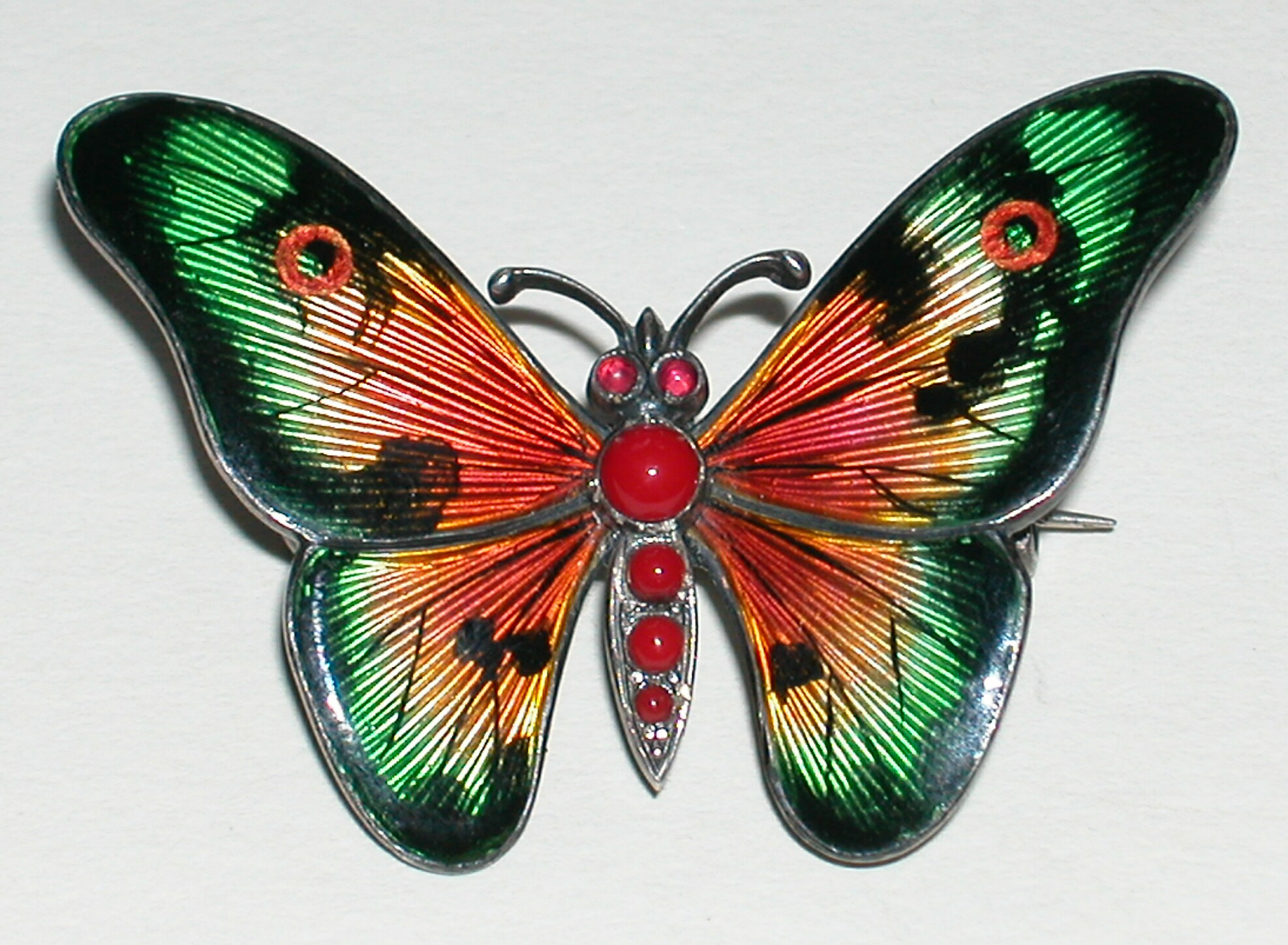 Re il duce butterfly tattoo